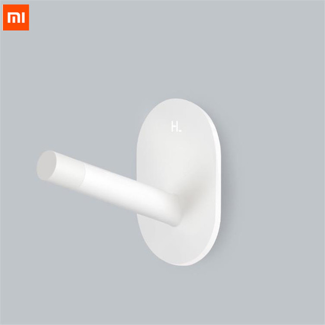 3Piece Xiaomi Mijia HL Little Adhesive Multi-function Hooks/Wall Mop Hook Strong Bathroom bedroom Kitchen Wall Hooks 3kg max loa