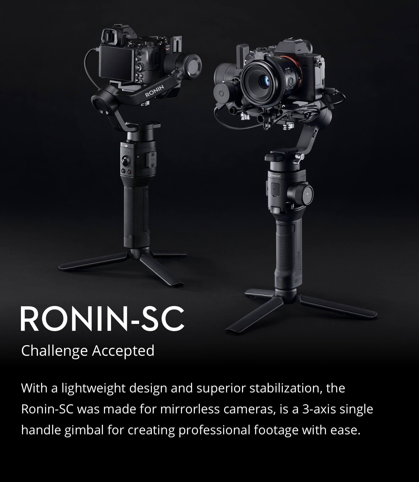 DJI Ronin-SC Gimbal Stabilizer 4