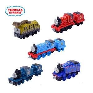 Image 3 - Jouets de voiture pour enfants, en métal moulé, Thomas et ses amis Gator James moteur Gordon Henry Belle, Mini Trains, accessoires classiques