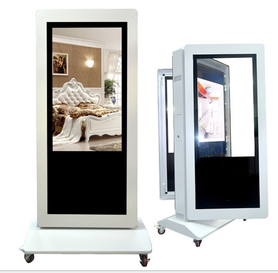 Supply 42 Inch LED LCD Digital Multimedia Double Size Screen  Internet LCD Advertising Players Home Automation