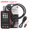 DHL Free Shipping New Arrival LAUNCH Creader VII OBDII EOBD Auto Code Scanner Internet Update Online