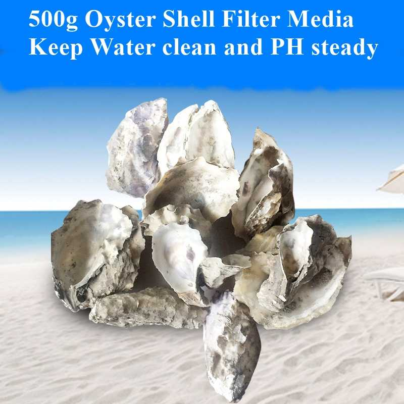 500g Oyster Shell Fish Filter Media Water Ph Steady Biocycle