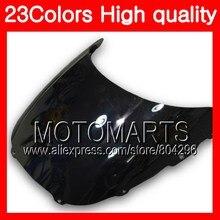 23 cores windscreen para honda cbr250rr 88 89 mc19 cbr250 rr cbr 250rr cbr 250 rr 1988 1989 chrome preto claro fumaça brisa
