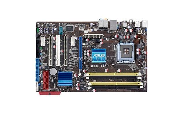 Бесплатная доставка 100% оригинал материнская плата для настольных P5QL PRO LGA 775 DDR2 RAM 16 Г Рабочего mainboard