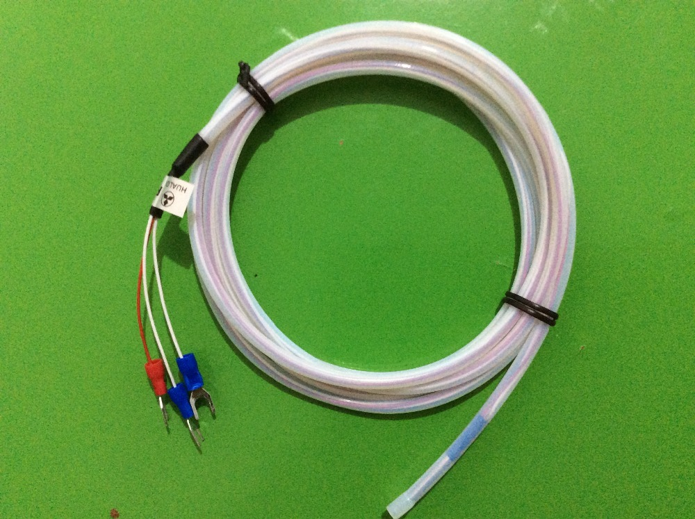 rtd wiring promotion shop for promotional rtd wiring on aliexpress com 4 Wire Rtd Wiring To 3 Wire 2m 6 6 ft 3 wires rtd pt100 sensor for temperature controller waterproof corrosion protection acid resistant 0~300 celsius 4 wire rtd wiring to 3 wire input