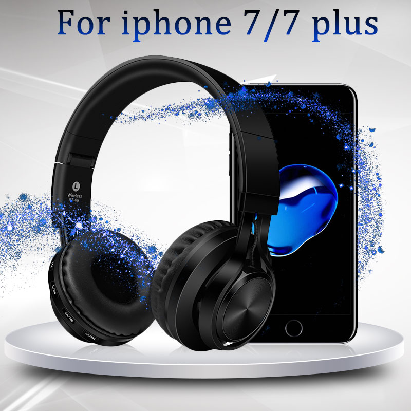 Headphones with Mic for iPhone 7/7 Plus Wireless Earphone Stereo Headsets support handsfree call casque bluetooth fone de ouvido egrincy x11 mini bluetooth car earphone wireless handsfree in ear headsets usb magnetic charging with usb socket mic for iphone