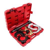 For MacPherson Interchangable Fork Strut Coil Spring Compressor Extractor Tool Set