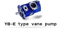 Brand hydraulic oil vane pump YB E50/32 high pressure double pump for injection molding machine