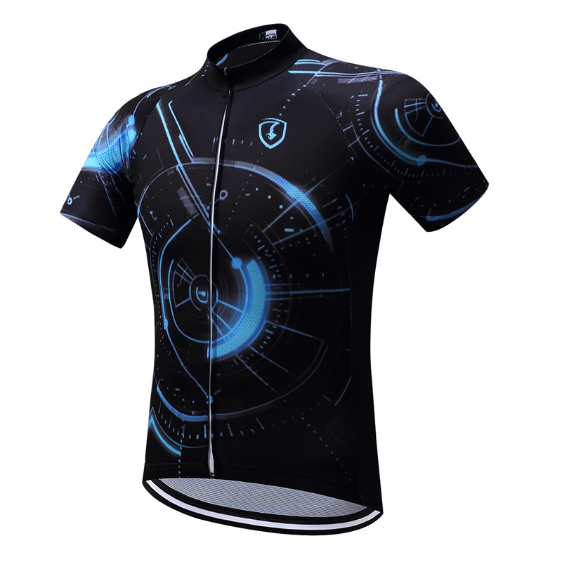 Roupa ciclismo men quick dry china cycling apparel/2017 pro team road UV bike jersey/dry racing black dry fit blank bicycle wear