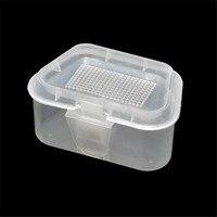 snowshine#302210Pcs LEO Color Transparent Earthworm Box wholesale