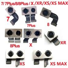 Оригинальная задняя камера Flex ленточный кабель основной Камера модуль для Apple iPhone 7 Plus 8 Plus X XR XS MAX Замена Ремонт Запчасти