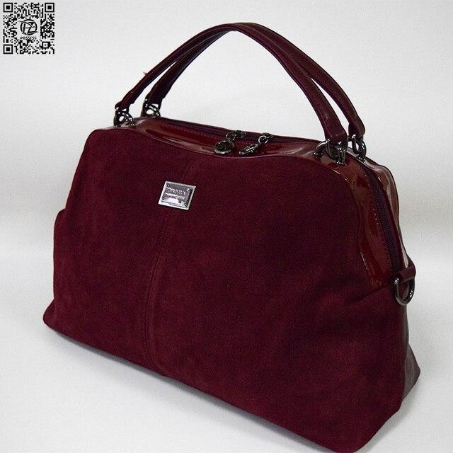 Брендовая женская мягкая сумка в повседневном стиле