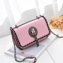 купить New fashion woman handbags  trend leisure messenger bag  simple Korean version women bag chain shoulder bag bolso mujer по цене 1058.38 рублей