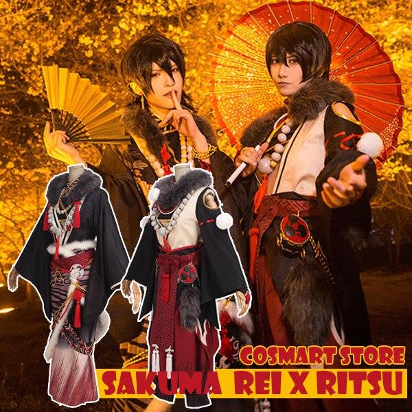 [Настройка] аниме ансамбль звезд брат рисунок sakuma Rei рицу fuku и дух ФЭСТ. Кимоно Костюм Хэллоуин Косплэй костюм для взрослых