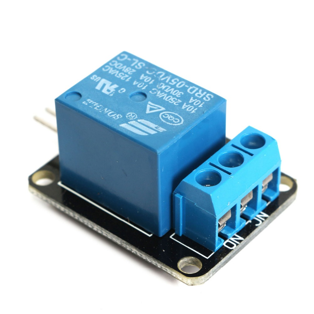 New Arrival 1 Channel Relay Module Board 5v Dc Ac For Arduino Arm Dsp Pic Avr Electronic Can Control 220v Load Circuit