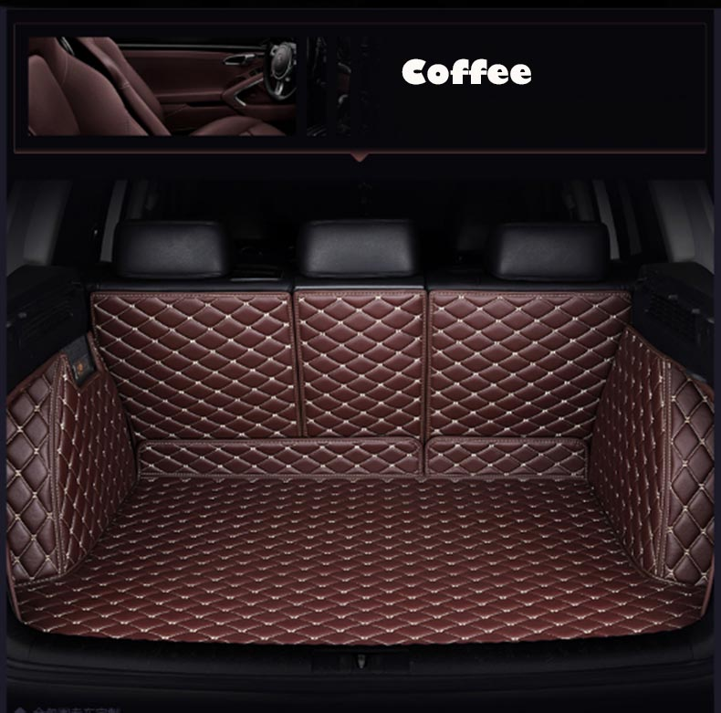 Personnalisé tapis de coffre de voiture en cuir pour lifan x60 320X50 720X80 620 820 520 CHANA CS95 CS35 CX20 CS15 CS55 CX30 CS75 accessoires de voiture