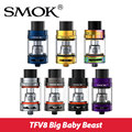 Original Smok TFV8 Big Baby Tank 5ml match Smok G-priv Mod 200W Top-filling Baby Atomimzer with X4 Core/Baby T6/RBA Core
