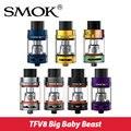 Original smok smok tfv8 grande tanque 5 ml jogo do bebê g-priv mod 200 w top-preenchimento bebê atomimzer com x4 núcleo bebê/t6/rba núcleo