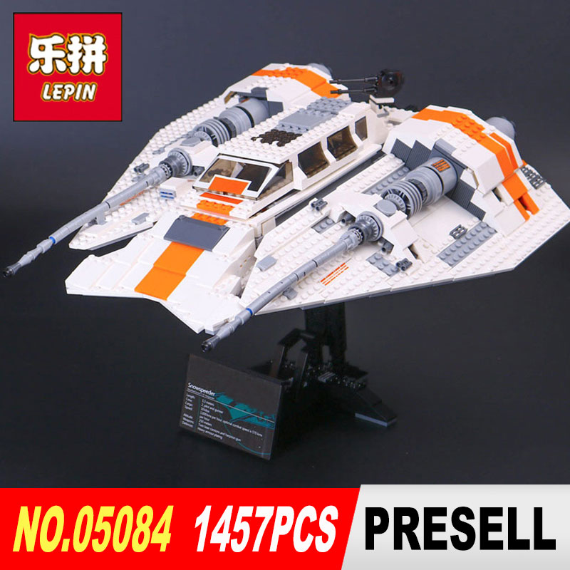 Lepin 05084 Star Wars classic Snowspeeder model Building kits Blocks diy Bricks toys for boys gifts legoINGlys 75144 10129 star wars boys black