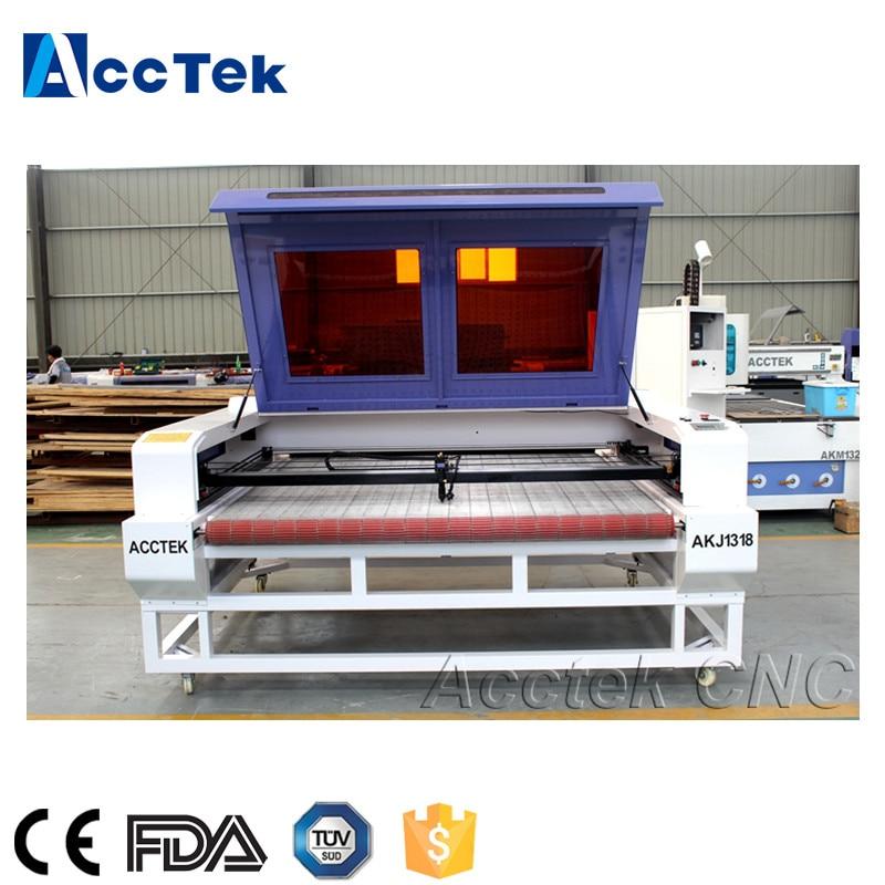 Good service textile/fabric/cloth/garment cutting machine laser with auto feeding