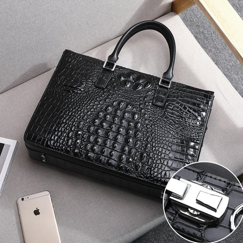 2019 Man Genuine Messenger Bag Luxury Brand Men Leather Business Affairs Male Package Briefcase Cowhide Single Shoulder Satchel