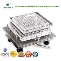 CapsulCN100M Size 00 Encapsulator Semi Automatic Capsule Filler Capsule Filling Machine Capsule Capper Encapsulating Machines