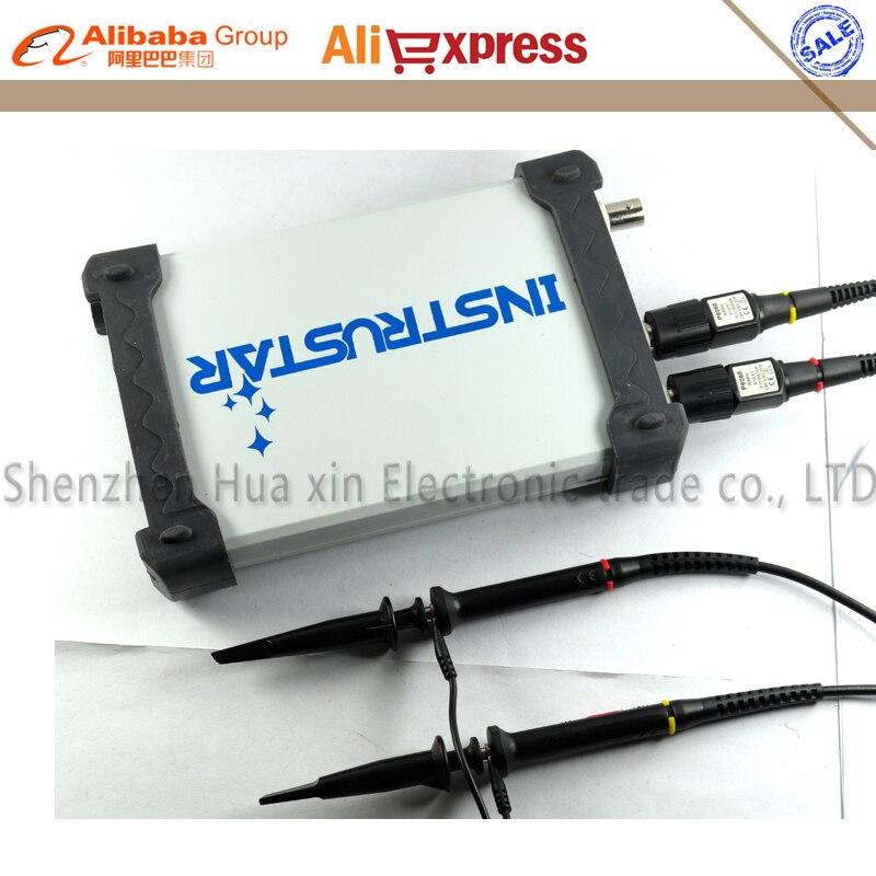 ISDS205B 5 IN 1 Multifunctional PC USB Digital oscilloscope spectrum analyzer data recorder DDS Sweep 20M