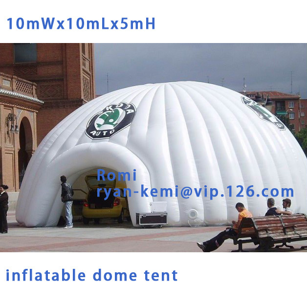 Free shipping 10x10x5mH oxford cloth giant inflatable dome tent large inflatable advertising tent Inflatable canopy for outdoor 6 8x4x3 4m oxford cloth inflatable stage tent inflatable stage cover inflatable canopy tent for concert with free shipping