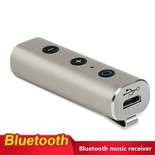 V4.2 Bluetooth Receiver User Manual with 3.5mm stereo audio port and usb cable,buttons for TV Tablets PC iphone ipad