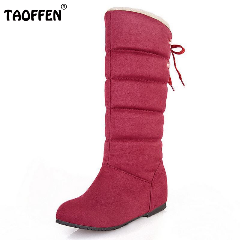 Size 32-45 New Women Boots Russia Keep Warm Outdoor Riding Boots Womens Fur Boots Winter ...