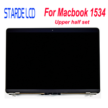 A1534 Upper Half Set LCD Display Touch Back Cover for MacBook Retina 12 1534 2015 Years MF855 MF865 817-00327-04 810-00021-A 810 for macbook 12 a1534 switzerland swiss keyboard w topcase 2015 2016 2017 years gold gray grey silver rose gold color
