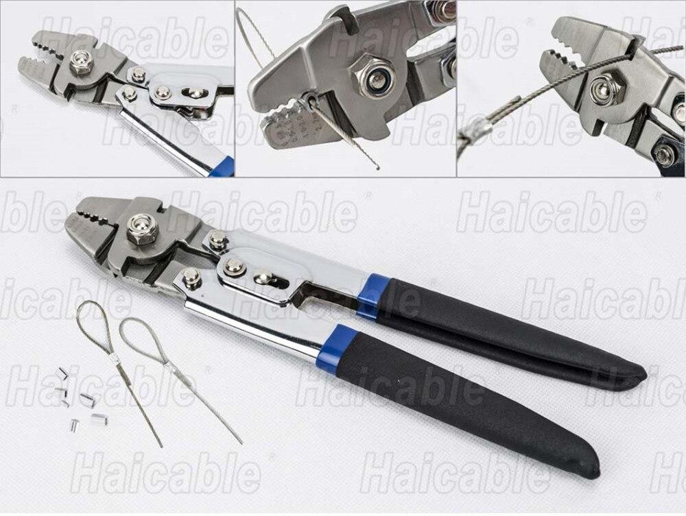 Haicable hl 700b fishing crimping tool pliers with for Fishing crimping tool