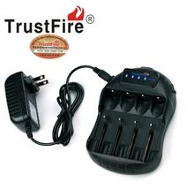 30pcs/lot TrustFire TR-009 Digital Smart LED Display Intelligent Battery Charger with USB Charging Port for 18650 14500 AA/AAA