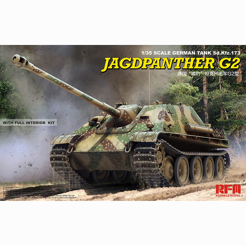 1 35 RYEFIELD MODEL RM5022 Jagdpanther G2 Model hobby