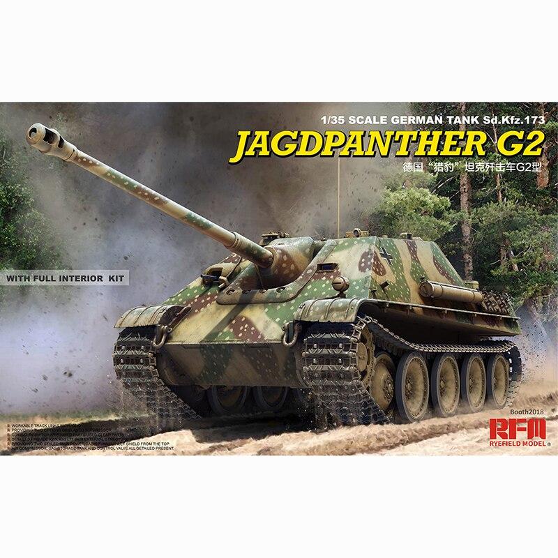 1/35 RYEFIELD MODEL RM5022 Jagdpanther G2 modelu hobby w Zestawy modelarskie od Zabawki i hobby na  Grupa 1