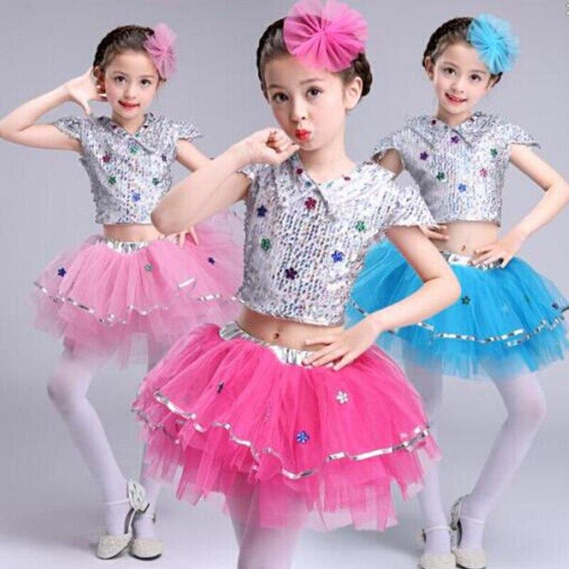 Disfraces De Baile De Jazz Moderno Para Niñas Vestido De