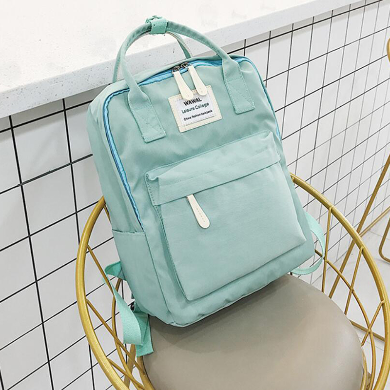 HTB1pH 0KeGSBuNjSspbq6AiipXaH Yogodlns Campus Women Backpack School Bag for Teenagers College Canvas Female Bagpack 15inch Laptop Back Packs Bolsas Mochila