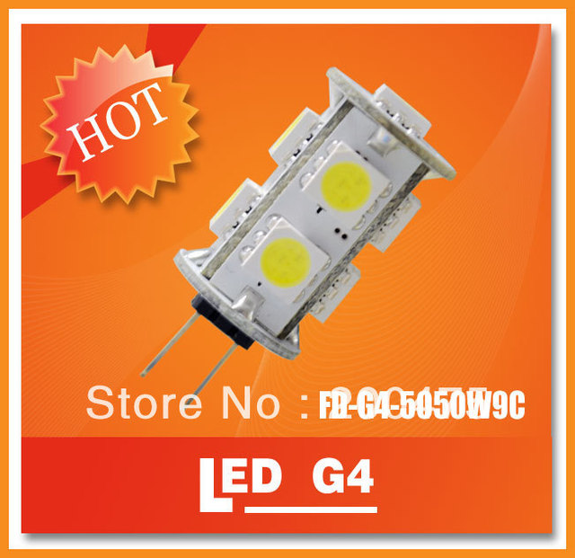 3W G4 Corn LED Light 9pcs SMD5050 LED Car used Shopmall Commercial White Warm White