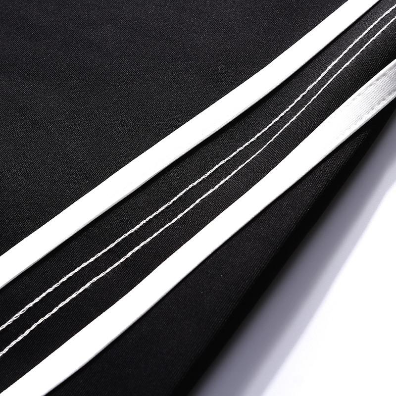 c02ccb08a0698 A21c02 Grey Pantalones Hip Ribete Streetwear Rojo 2019 Harem a21c02 Holgado  Black Dark a21c02 De Harajuku Sudor ...