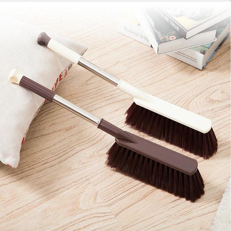 Lidar com Escova de Limpeza Piso do Carro Inoxidável Grande Poeira Escova Limpeza Doméstico Mobiliário Sofá Ferramenta Aço