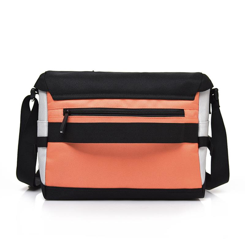 Boy Students Stylish School Bags for 2019 High Quality Korean Style Teenager Bookbags Minimalist Sling Crossbody Messenger Bags in Crossbody Bags from Luggage Bags