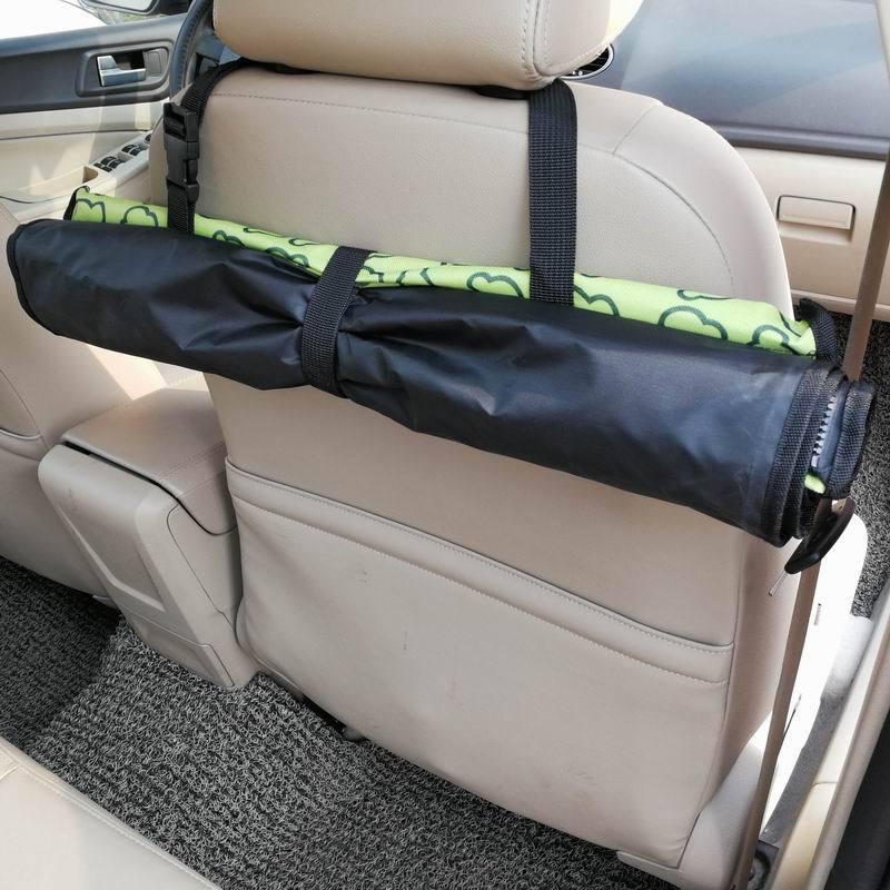 CAWAYI KENNEL PVC Waterproof Small Pet Dog Cat Car Seat Cover Mat Blanket Rear Back Dog Car Seat Protection Hammock D0041 6