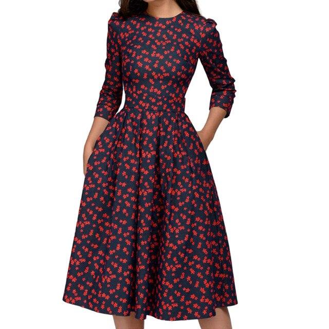 Dress Casual Women'S Flower...