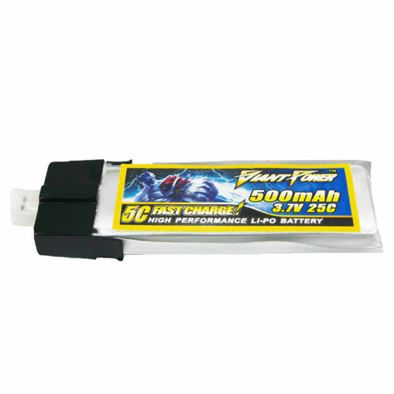 Batterie haute qualité 500 mAh 3.7 V 1 S 25C pour lame e-flite MCPX/WLTOYS V922 HCP100