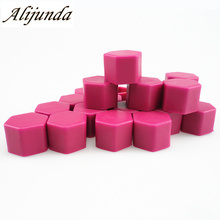 car styling Car Wheel Hub Nut Screw Caps Cover for Mitsubishi ASX Outlander Lancer Evolution Pajero