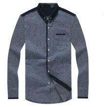 Весна Новый Дизайн Чистый Цвет Оксфорд Мужские Рубашки С Длинным Рукавом Бизнес Рубашки для Мужчин Хлопка Высокого Качества Мужчины Случайные Рубашки