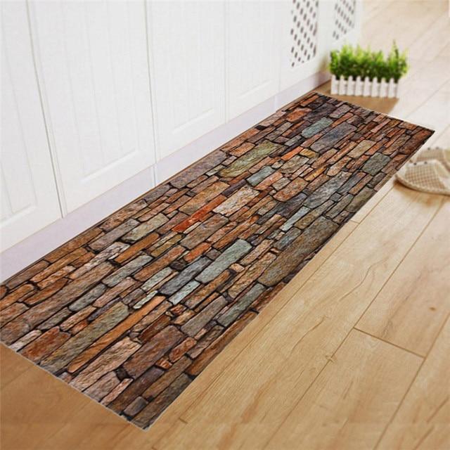 2018 New Carpet Shaggy Soft Area Rug Rectangle Floor Non Slip Brick