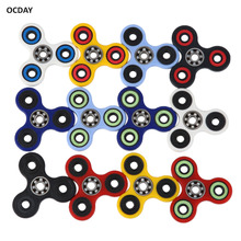 OCDAY Hand Spinner Four Hole Top Hybrid Ceramic Bearing Finger Spinner For Autism And ADHD Anti Stress Fidget Spinner Funny