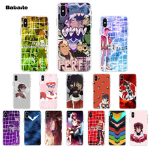 Babaite keith Voltron Legendary Defender Transparent Cell Phone Case for iPhone 7 7plusX XS MAX  6 6s 8 8Plus 5 5S SE XR