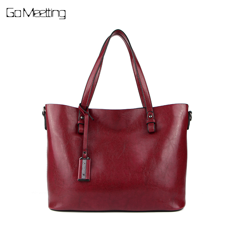 Go Meetting leather bag women messenger bags big tote luxury handbags women bags designer shoulder bags famous brands bolsos new fashion luxury women bags handbags women famous brands shoulder bag designer tote high quality patent leather messenger bag
